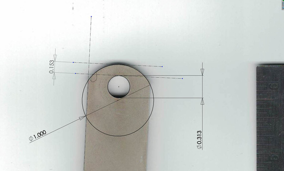 Measuring with Solidworks
