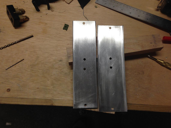 Two shunt plates