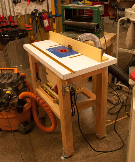 The Homebuilt Router Table.