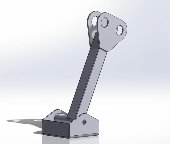 Aileron Idler Arm and Bracket