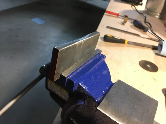 Very poorly made bending block